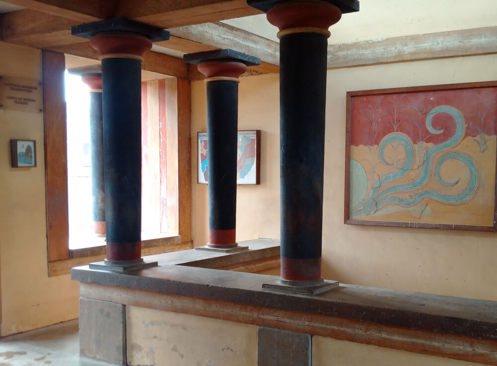 Knossos Tour and 3D Representation